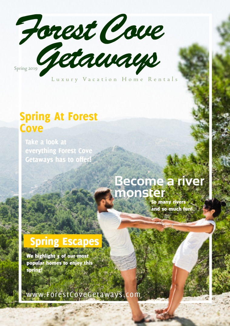 Forest Cove Getaways Spring 2019