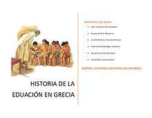 EDUCACIÓN EN GRECIA ANTIGUA