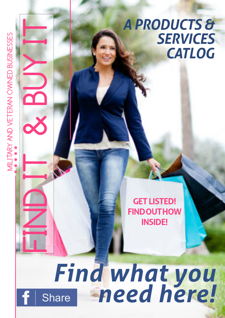 Find It Buy It Products & Services Catalog Issue 1 Volume 1
