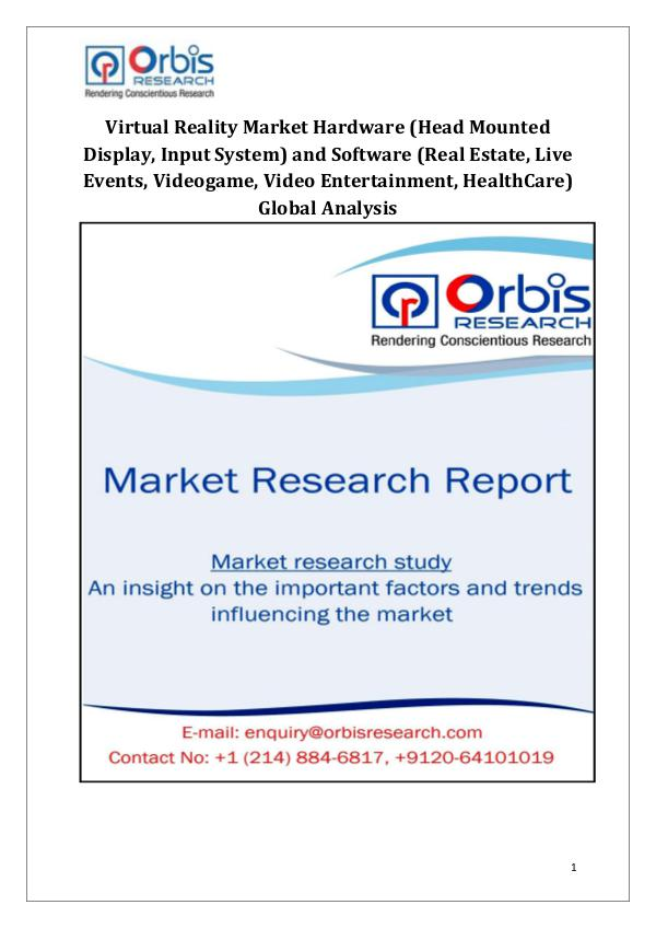 Industry Analysis Virtual Reality Market Growth Drivers Globally