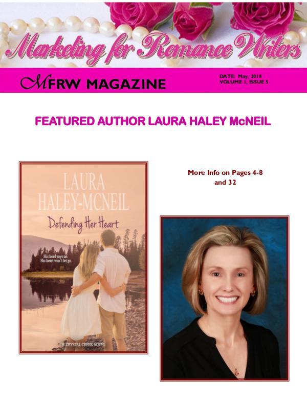 Marketing for Romance Writers Magazine May, 2018 Volume # 1, Issue # 5