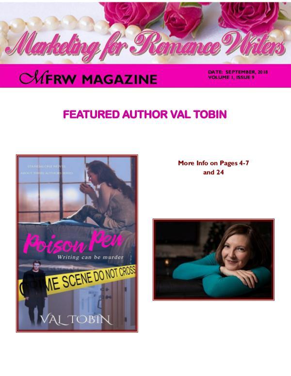 September, 2018 Volume # 1, Issue # 9