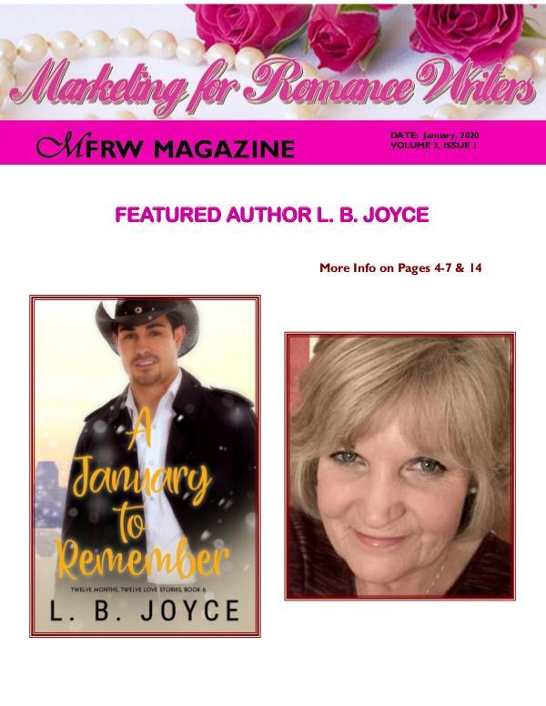 Marketing for Romance Writers Magazine January, 2020 Volume # 3, Issue #1