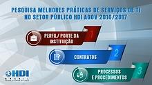 Pesquisa AGOV de Melhores Práticas de Serviços de TI no setor público