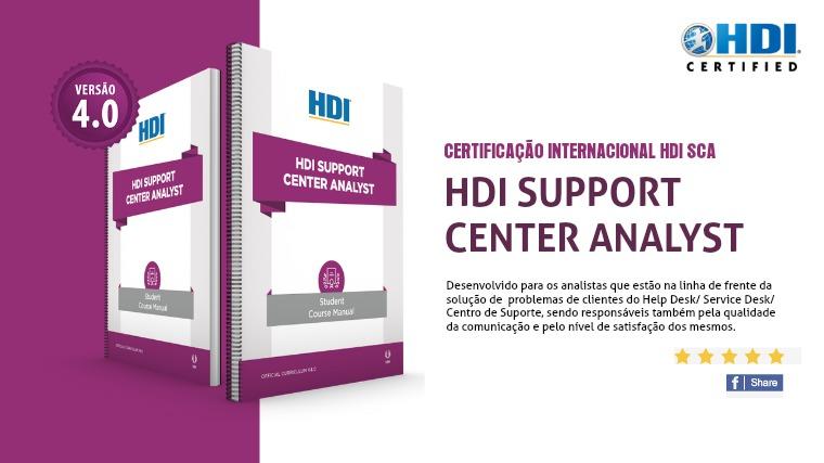 Cursos HDI - Ementas HDI SCA
