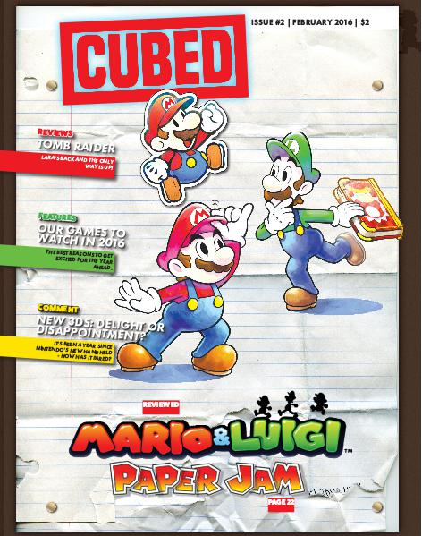 Cubed Issue #2, February 2016