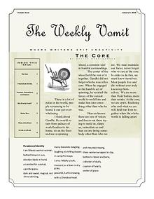 The Weekly Vomit