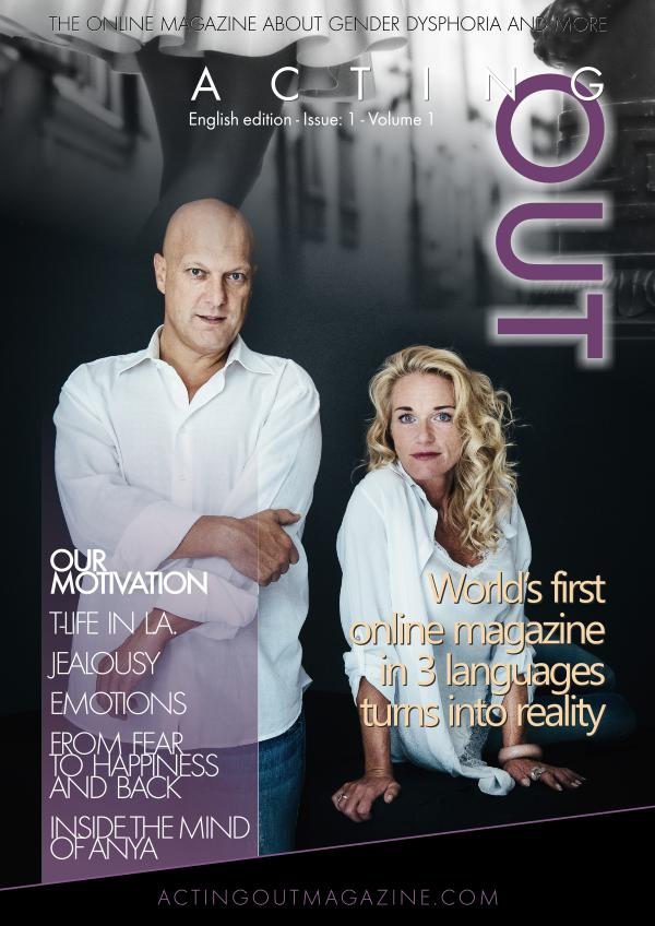 ActingOut Magazine English version ActingOut No. 1 -English Edition
