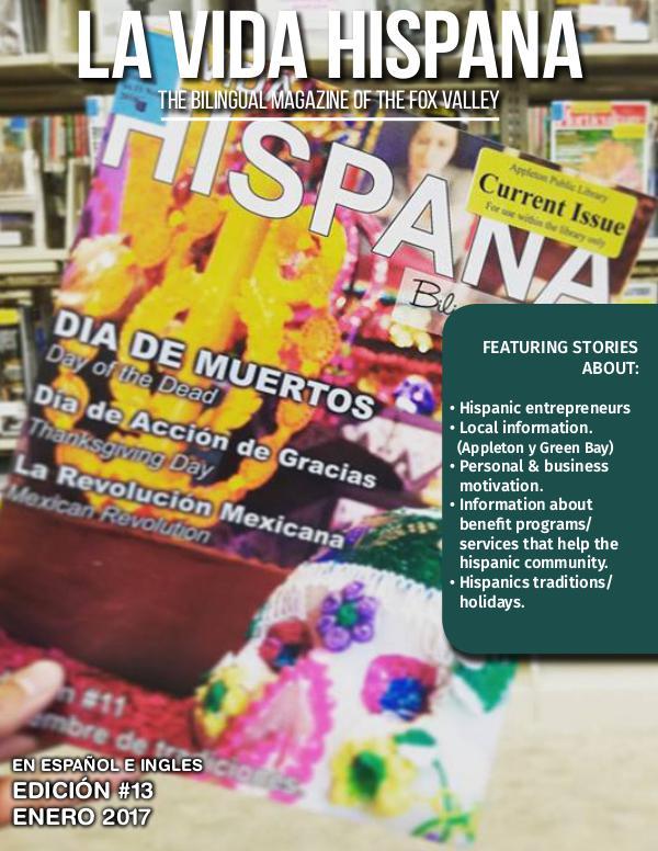 La Vida Hispana - Revista Mensual Enero | January 2017