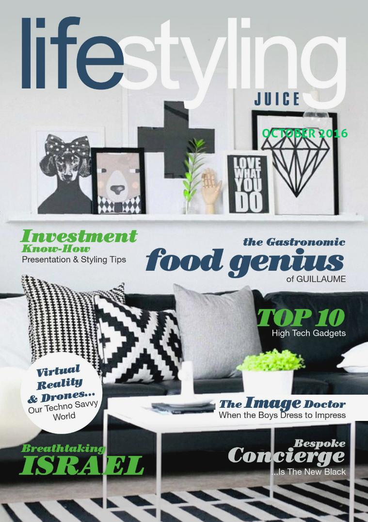 LSJ-OCT2016-Newsstand LifeStyling Juice Magazine Issue 2