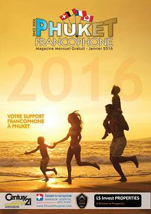 Phuket Francophone Magazine - Janvier 2016