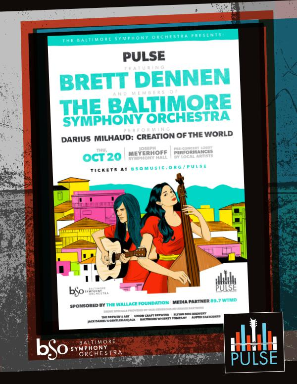 BSO Pulse: Program Notes 2016-2017 Brett Dennen with the Baltimore Symphony Orchestra