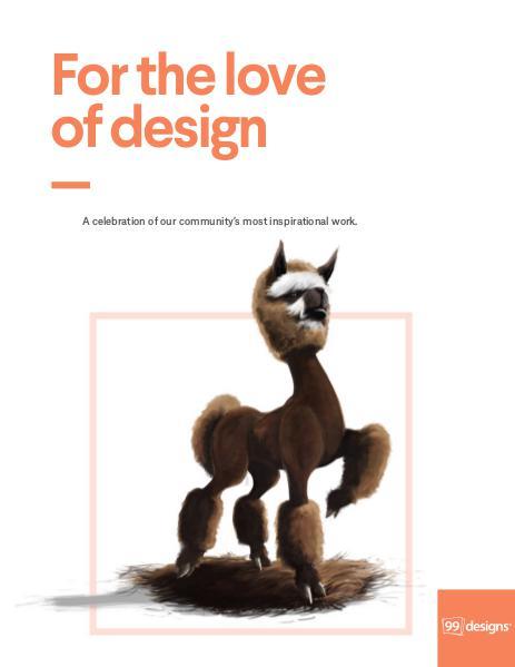 For the love of design Volume I