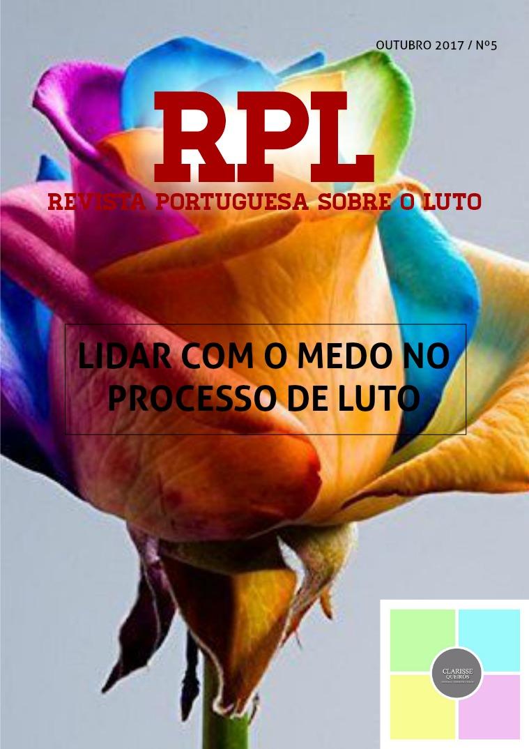 RPL - Revista Portuguesa sobre o Luto 5