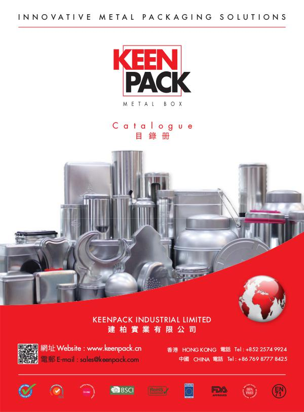 Keenpack Metal Boxes Catalogue July 2016 August 2017