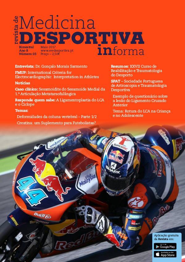 Revista de Medicina Desportiva Informa Maio 2017