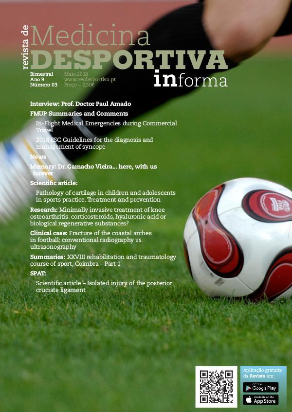 Revista de Medicina Desportiva (English) May 2018