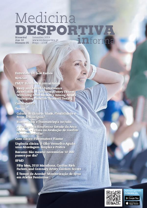 Revista de Medicina Desportiva Informa Setembro 2019