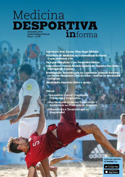 Revista de Medicina Desportiva Informa Setembro 2016