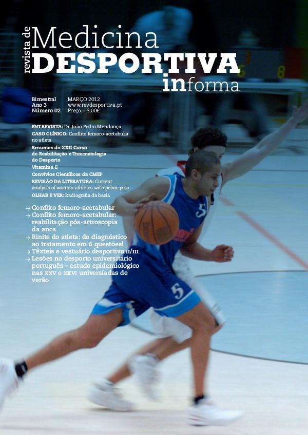 Revista de Medicina Desportiva Informa Março 2012