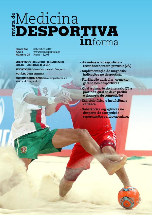 Revista de Medicina Desportiva Informa Setembro 2012