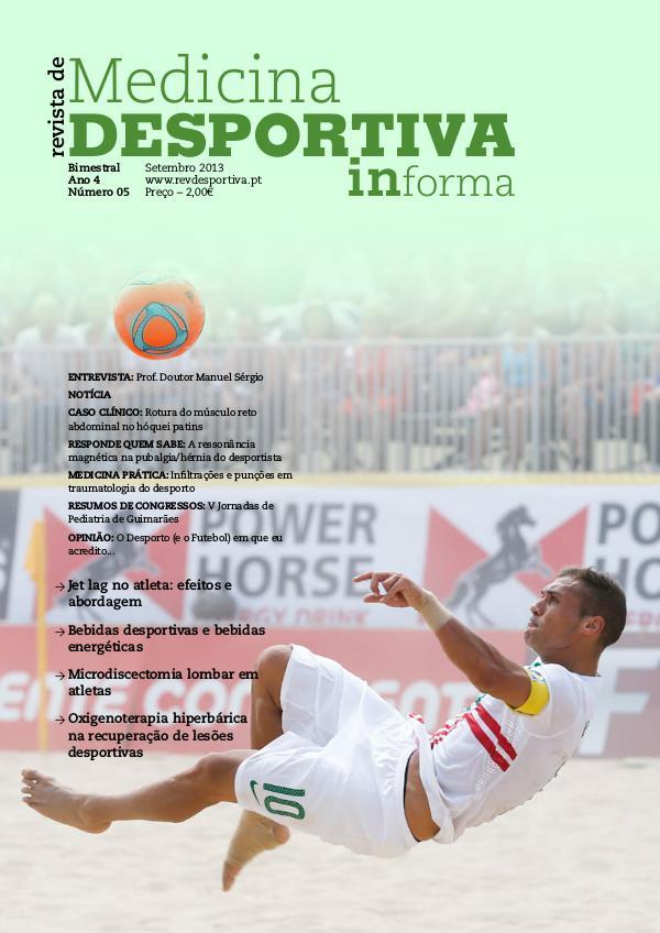 Revista de Medicina Desportiva Informa Setembro 2013