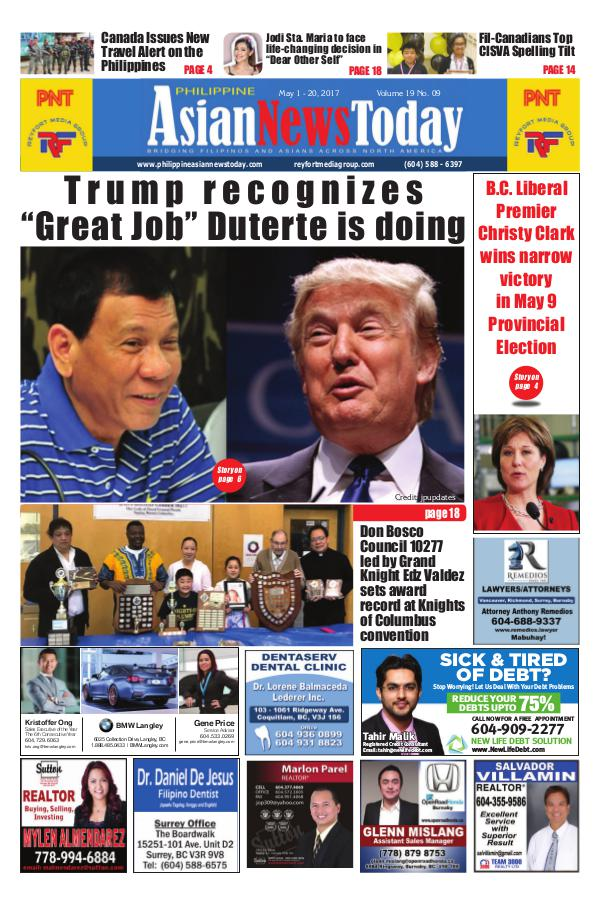 Philippine Asian News Today Vol 19 No 9