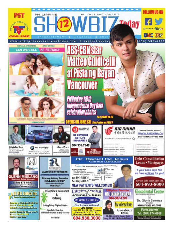 Philippine Showbiz Today Vol 12 No 12