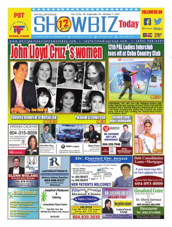 Philippine Showbiz Today Vol 12 No 18