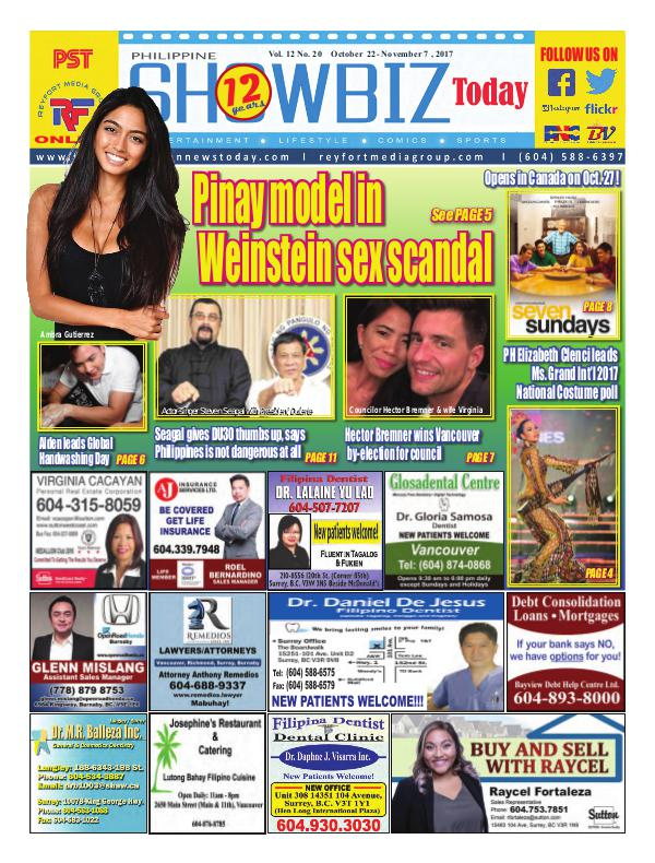 Philippine Showbiz Today Vol 12 No 20