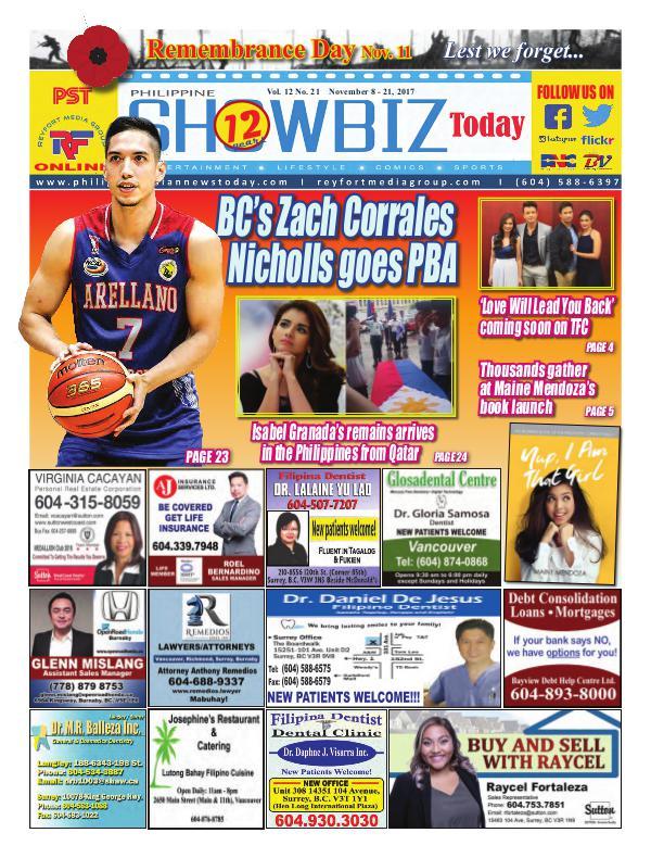 Philippine Showbiz Today Vol 12 No 21