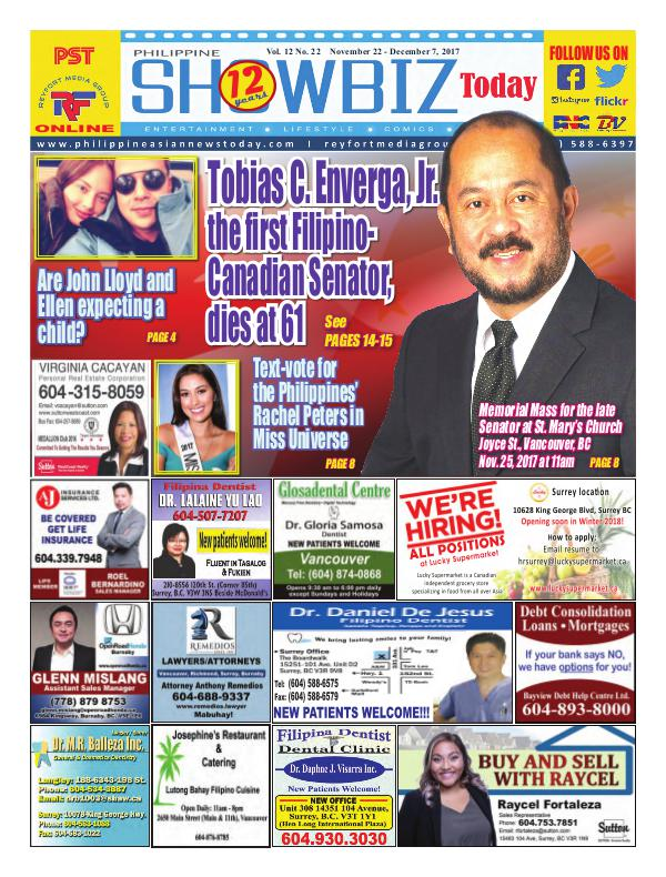 Philippine Showbiz Today Vol 12 No 22