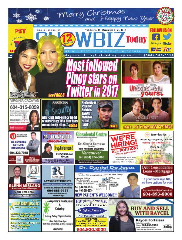 Philippine Showbiz Today Vol 12 No 23