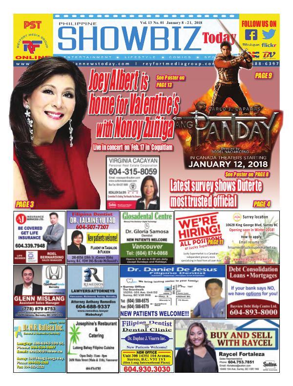 Philippine Showbiz Today PST Vol 13 NO 01
