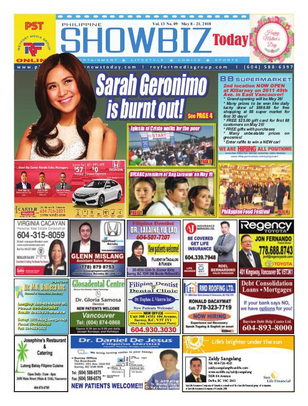Philippine Showbiz Today Vol 13 No 9