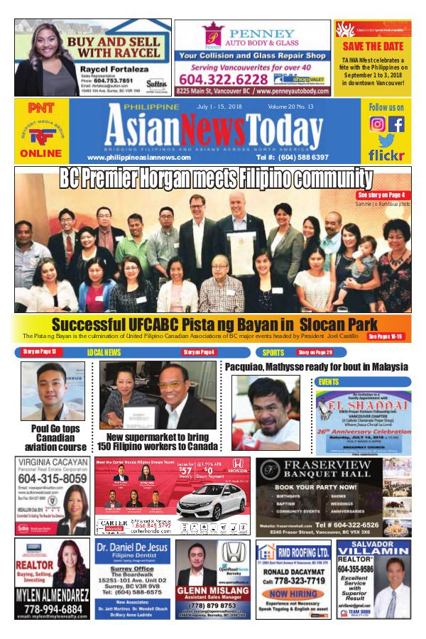 Philippine Asian News Today Vol 20 No 13