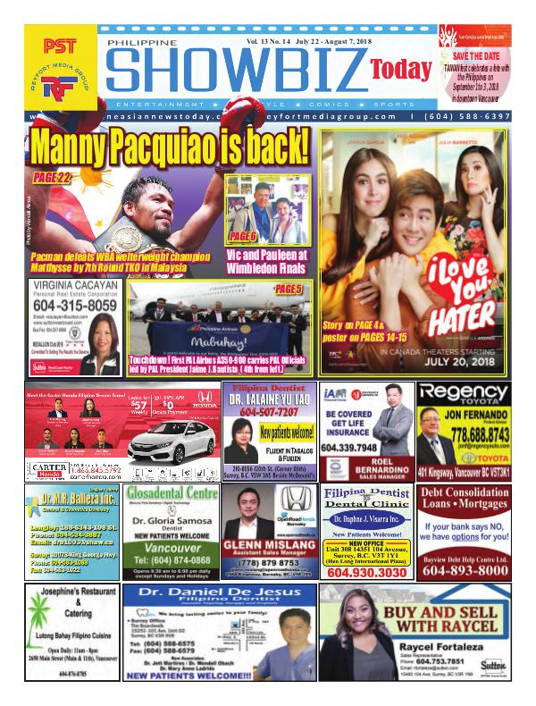 Philippine Showbiz Today Vol13 No14