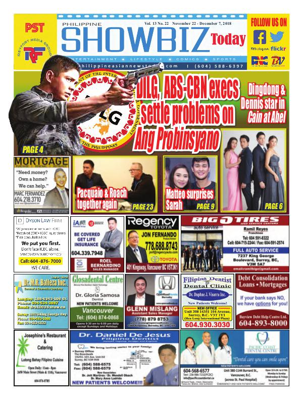 Philippine Showbiz Today Vol 13 No 22