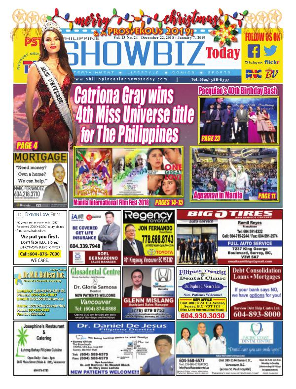 Philippine Showbiz Today Vol 13 No 24