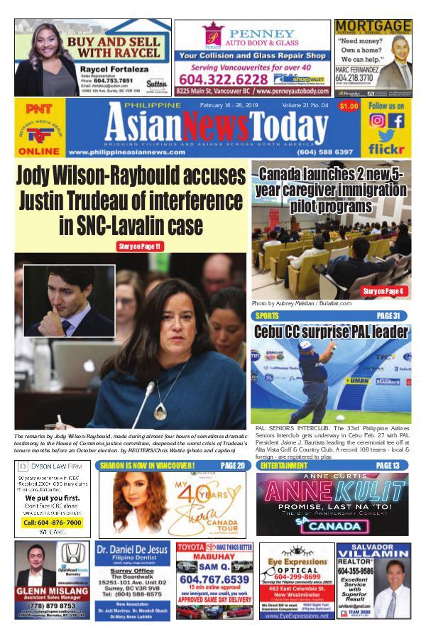 Philippine Asian News Today Vol 21 No 4 Vol 21 No 4