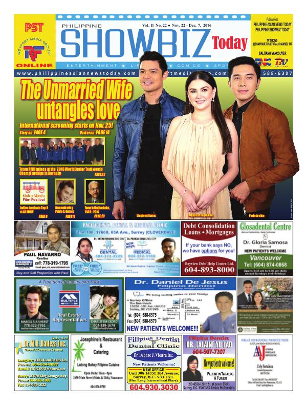 Philippine Showbiz Today Vol11 No 22