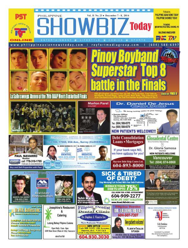 Philippine Showbiz Today Vol 11 No 23