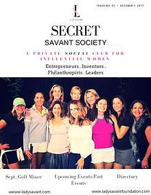 Secret Savant Society by Lady Savant
