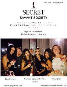 Secret Savant Society -January
