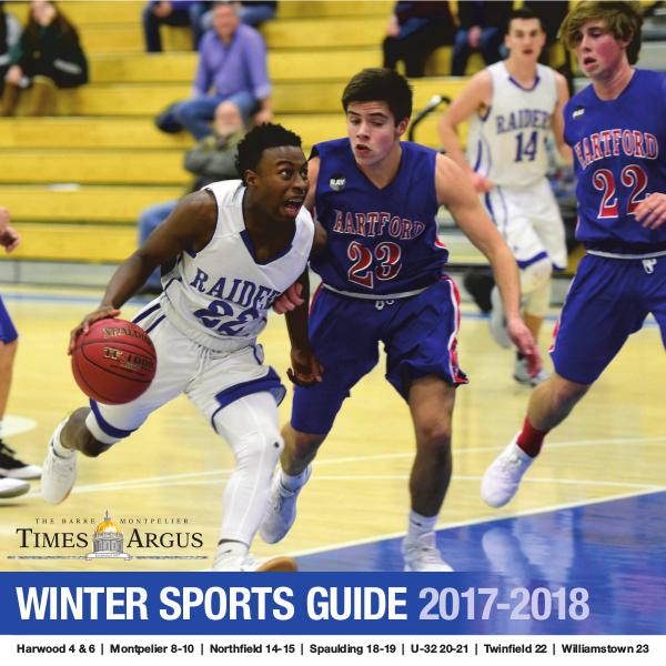 Times Argus Sports Guide Winter 2017-2018