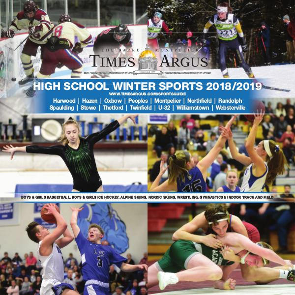 Times Argus Sports Guide Winter 2018/2019
