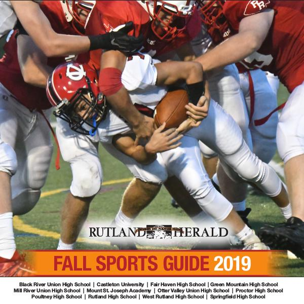 Rutland Herald Sports Guide Fall 2019