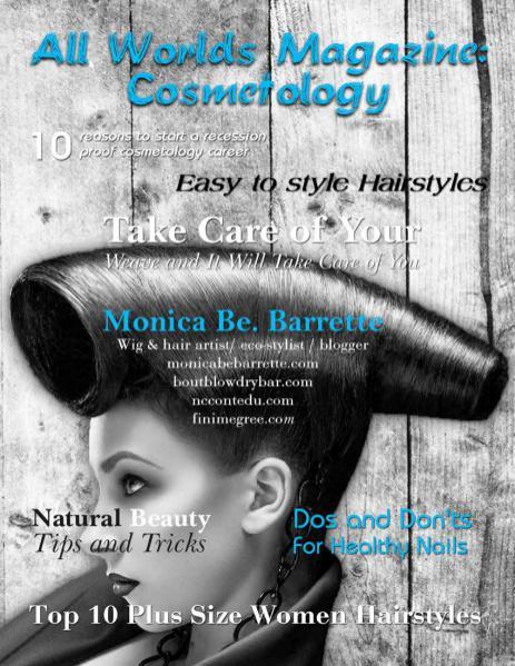 All Worlds Magazine: Cosmetology Jan. 2016