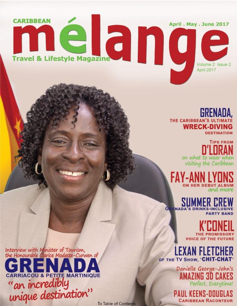 Mélange Travel & Lifestyle Magazine April 2017
