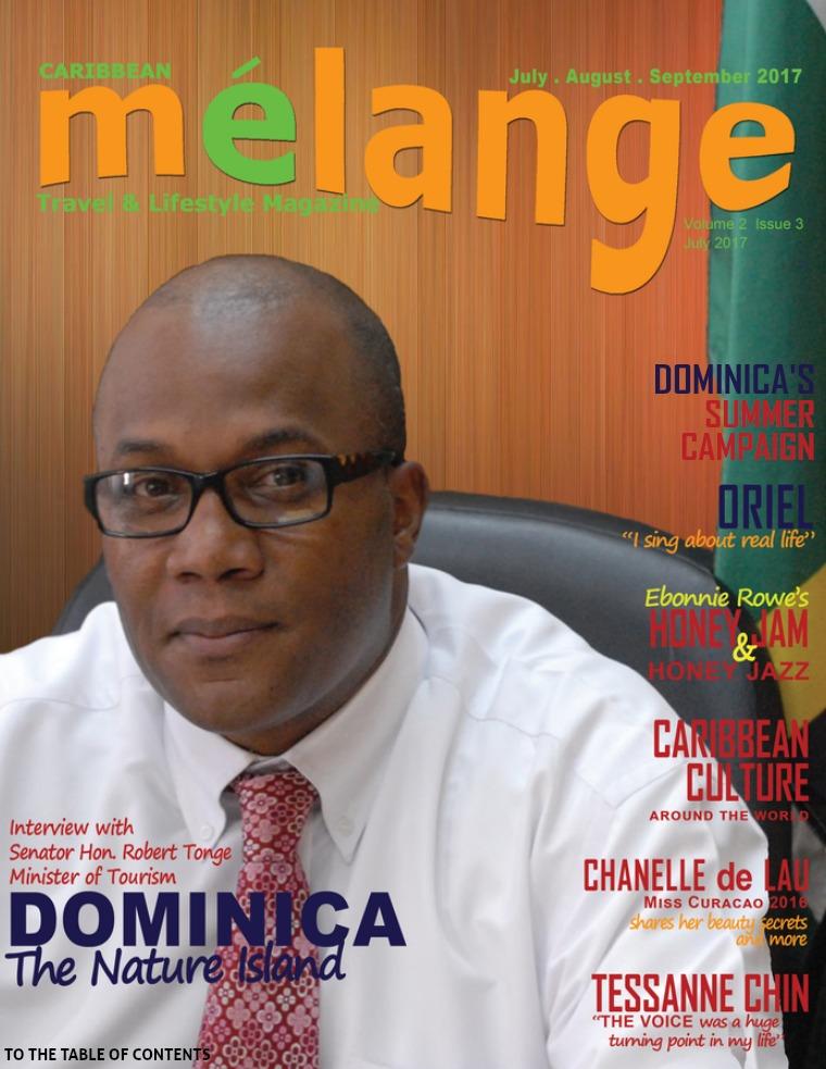 Mélange Travel & Lifestyle Magazine July 2017